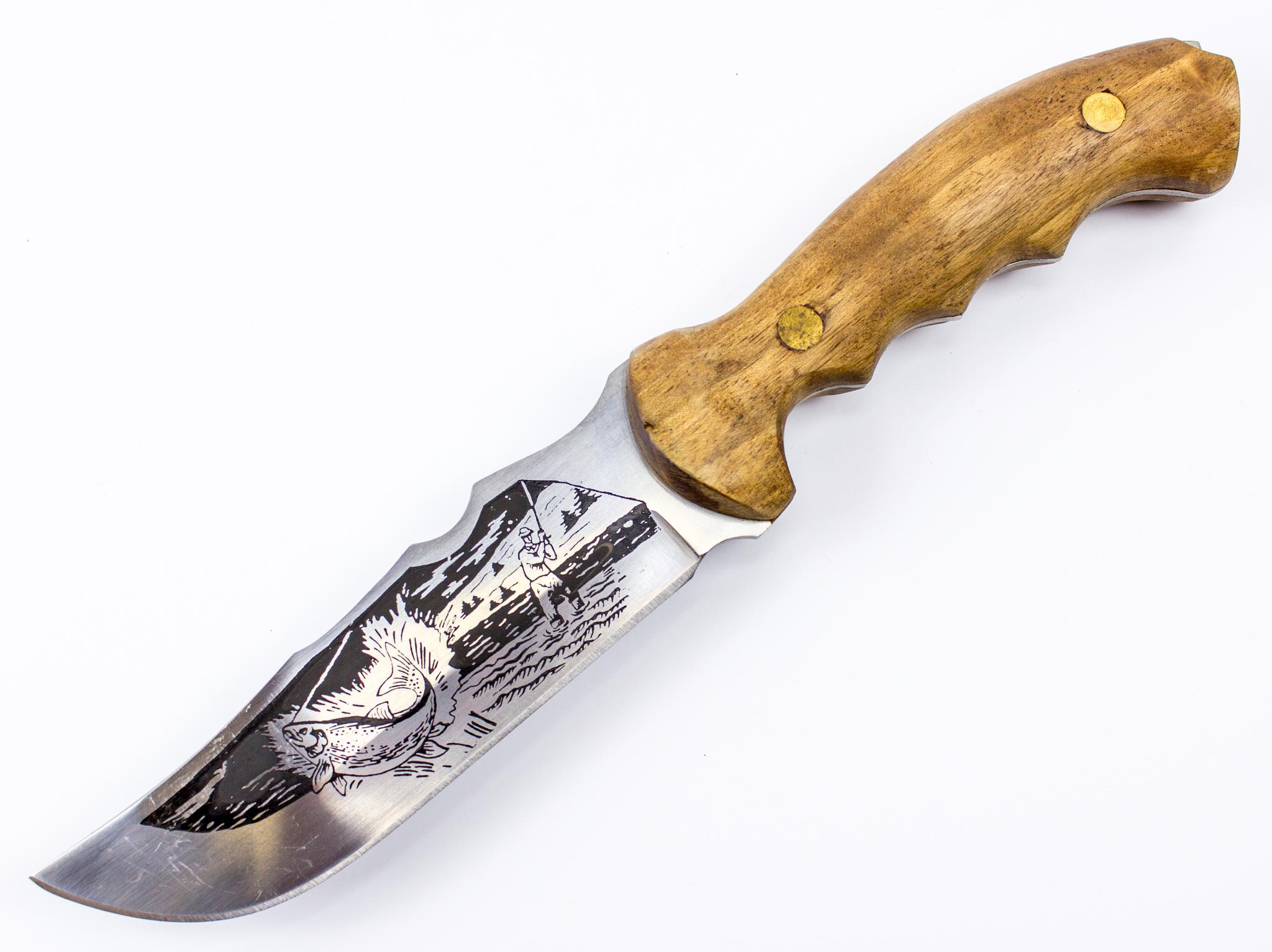 Нож Каспий, Кизляр нож крот черный кизляр