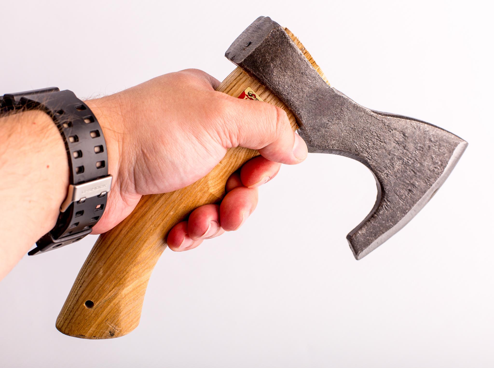 Мини Топор Удалец, 520 гр. топор иж мясорубный с деревянной рукояткой 2 4кг
