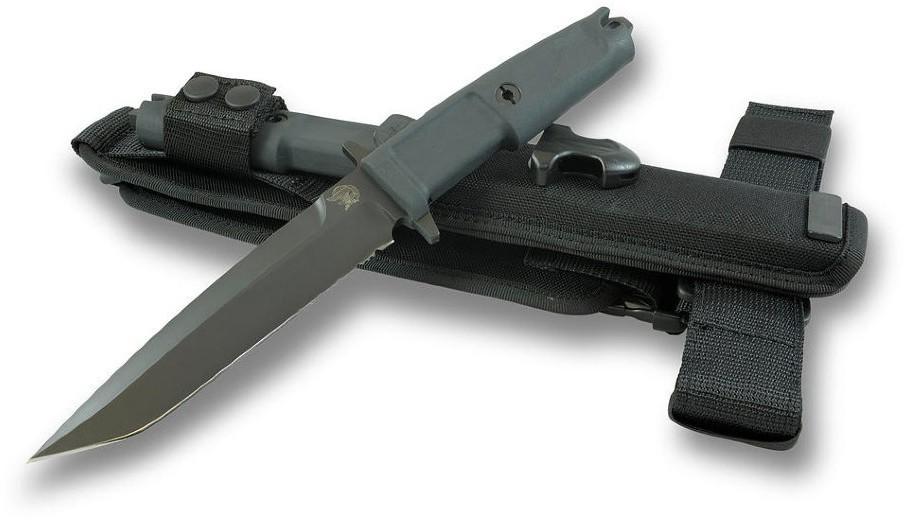 Фото 2 - Нож с фиксированным клинком Extrema Ratio Col. Moschin Plain Edge, сталь Bhler N690, рукоять  пластик
