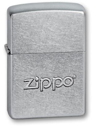 зажигалка ZIPPO street chrome, латунь с никеле-хромовым покрытием, светлый хром, гравировка, 36х56х1