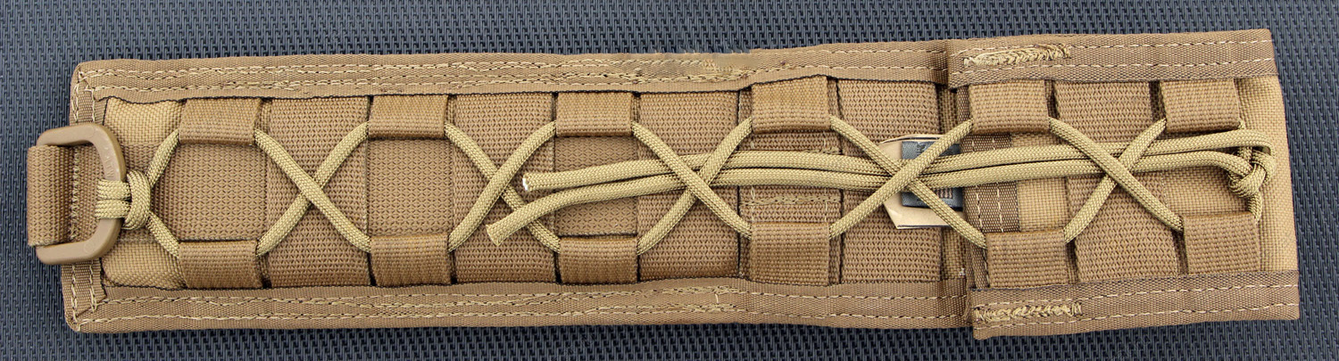 Нож с фиксированным клинком Spartan Breed Fighter (Flat Dark Earth/Green Micarta/Tan Molle Sheath) 13.97 см.