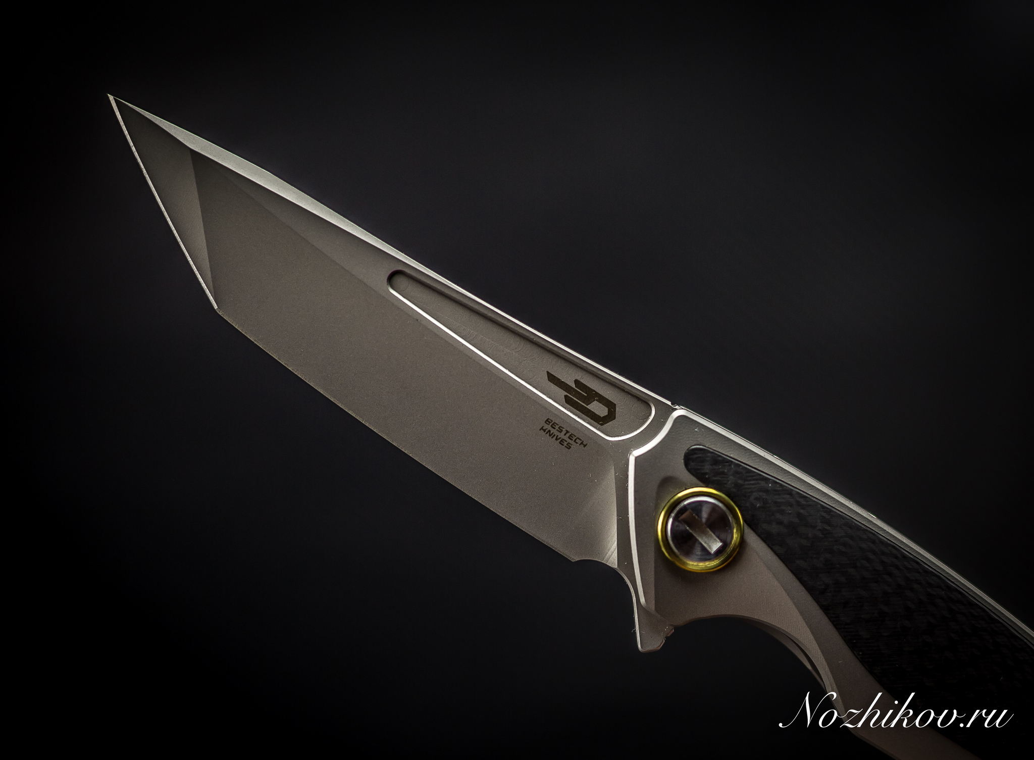 Фото 15 - Складной нож Bestech Predator BT1706B, сталь CPM-S35VN, рукоять титан от Bestech Knives