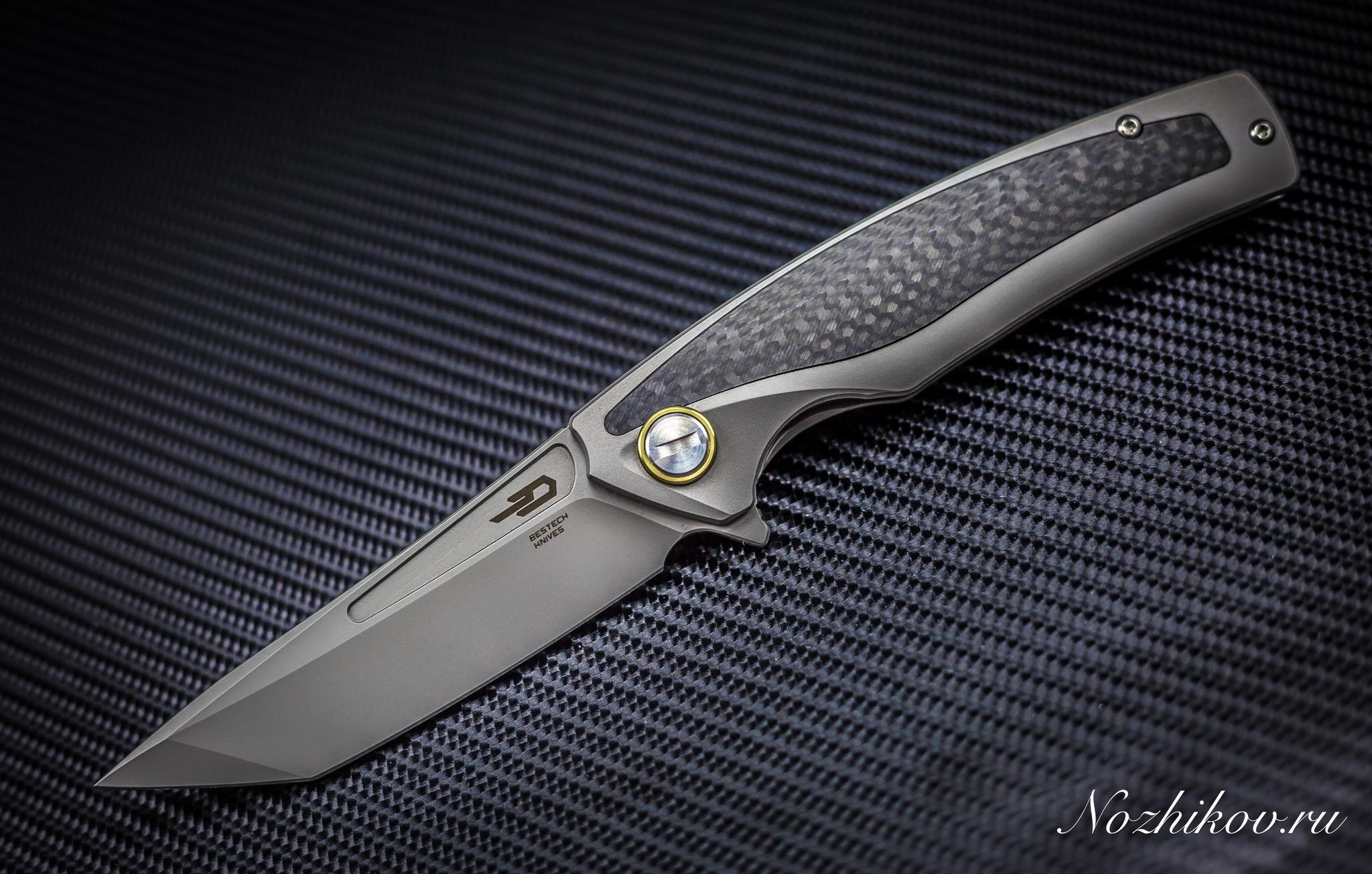 Фото 16 - Складной нож Bestech Predator BT1706B, сталь CPM-S35VN, рукоять титан от Bestech Knives