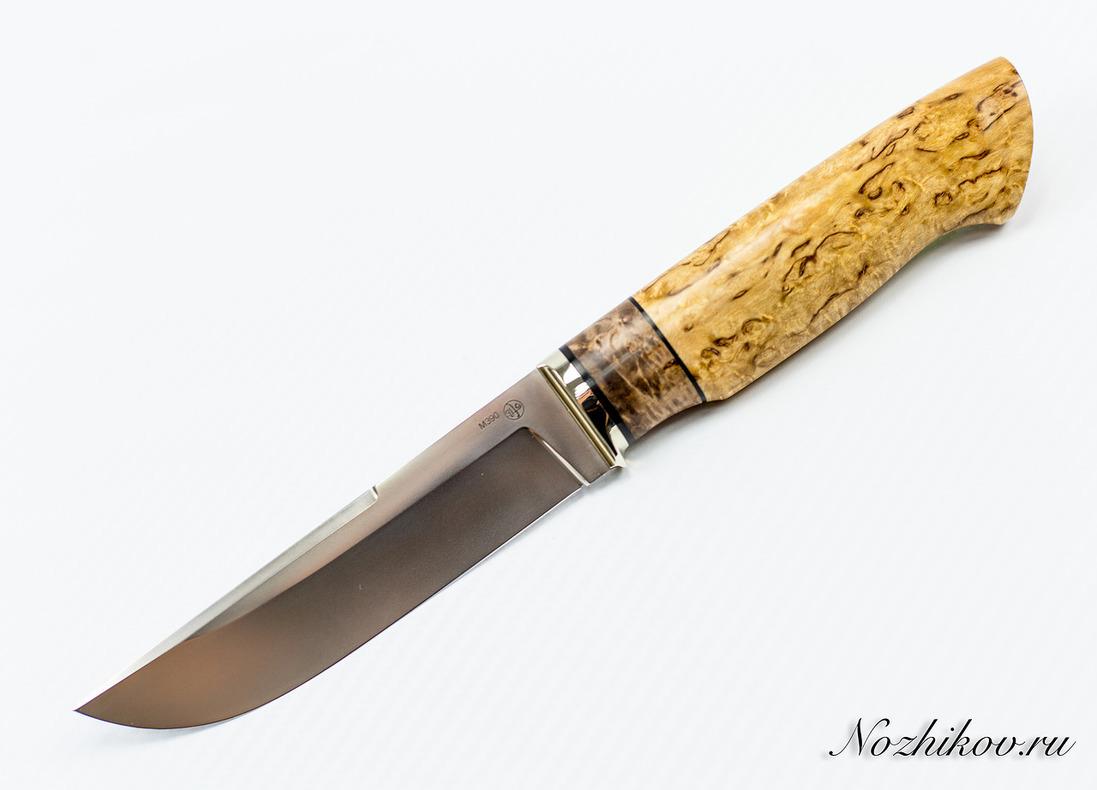 Нож Рабочий N60 из порошковой стали Bohler M390 стрезам капс 50мг n60