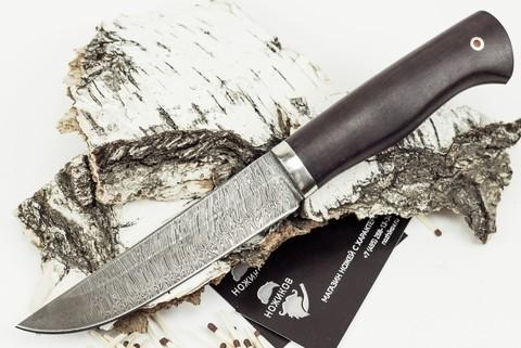 Нож Мангуст, дамасская сталь - Nozhikov.ru