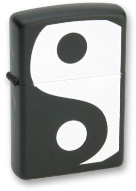 Зажигалка ZIPPO Y&Y Black Matte, латунь с порошковым покрытием, черный, матовая, 36х56х12 мм arte lamp a9070ap 1ab