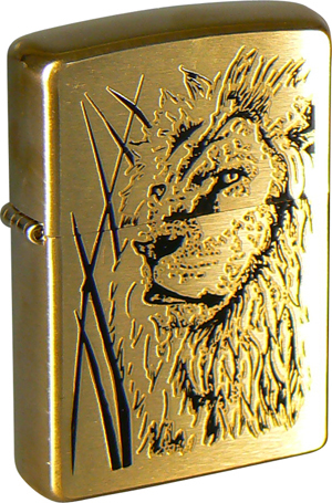 Зажигалка ZIPPO Proud Lion Brushed Brass, латунь, золотистый, матовая, 36х56х12 мм free shipping european style brass black oil brushed solid brass bathroom soap holder soap basket bathroom accessories
