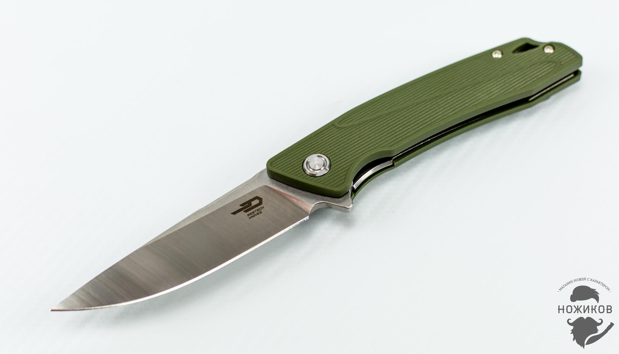 Фото 4 - Складной нож Bestech Spike BG09B-2, сталь Sandvik 12C27 от Bestech Knives