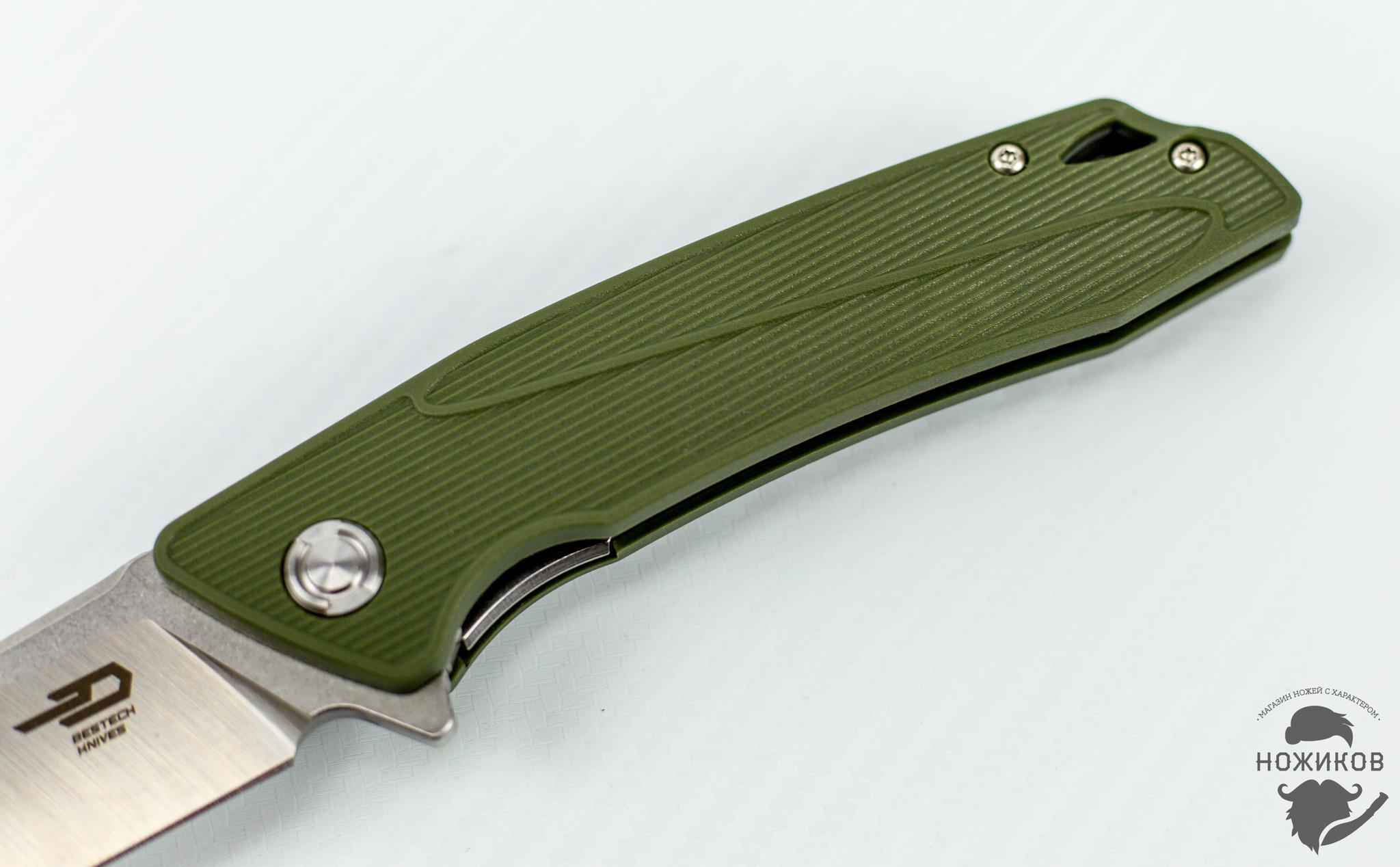 Фото 5 - Складной нож Bestech Spike BG09B-2, сталь Sandvik 12C27 от Bestech Knives
