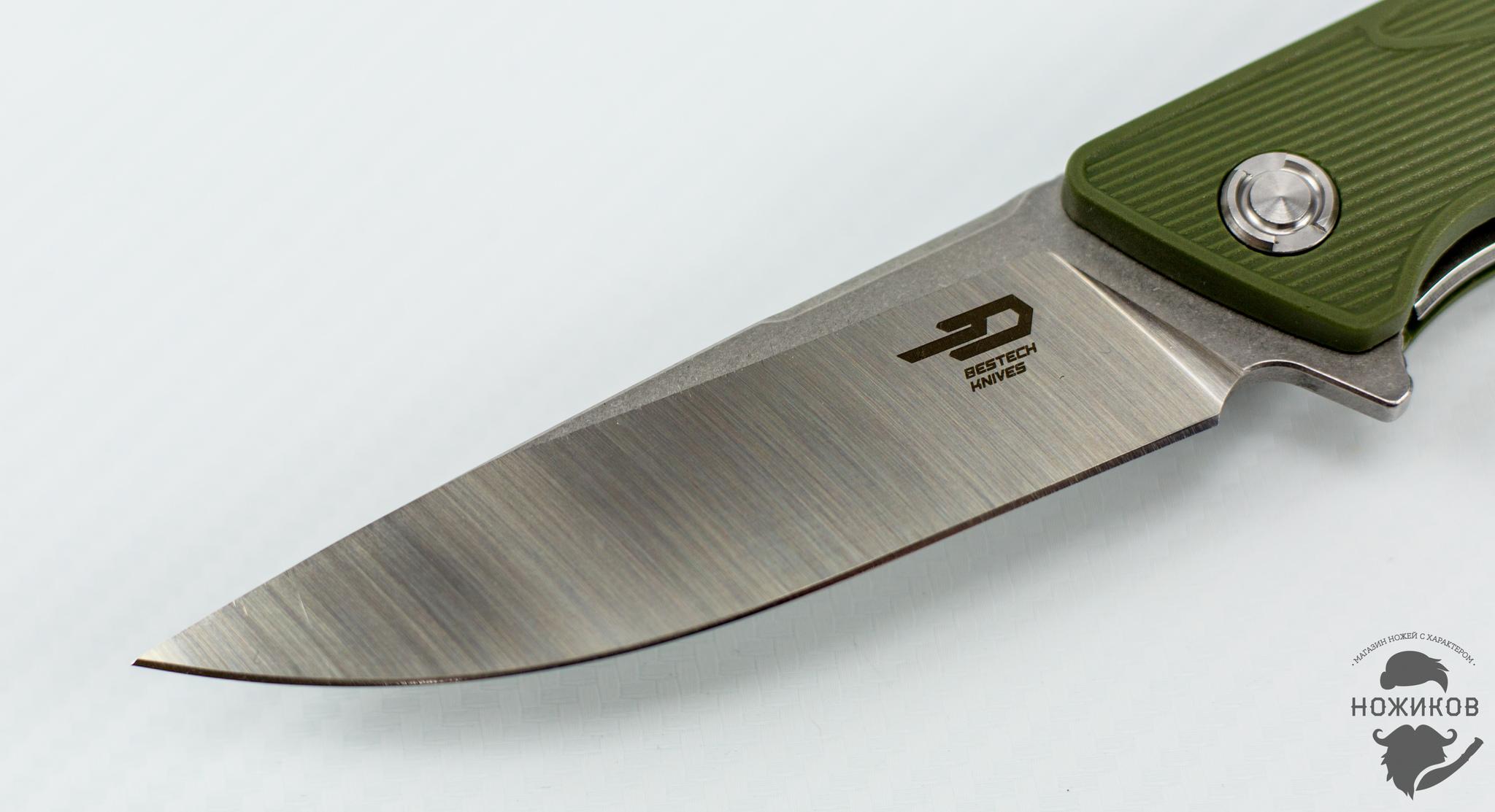 Фото 8 - Складной нож Bestech Spike BG09B-2, сталь Sandvik 12C27 от Bestech Knives