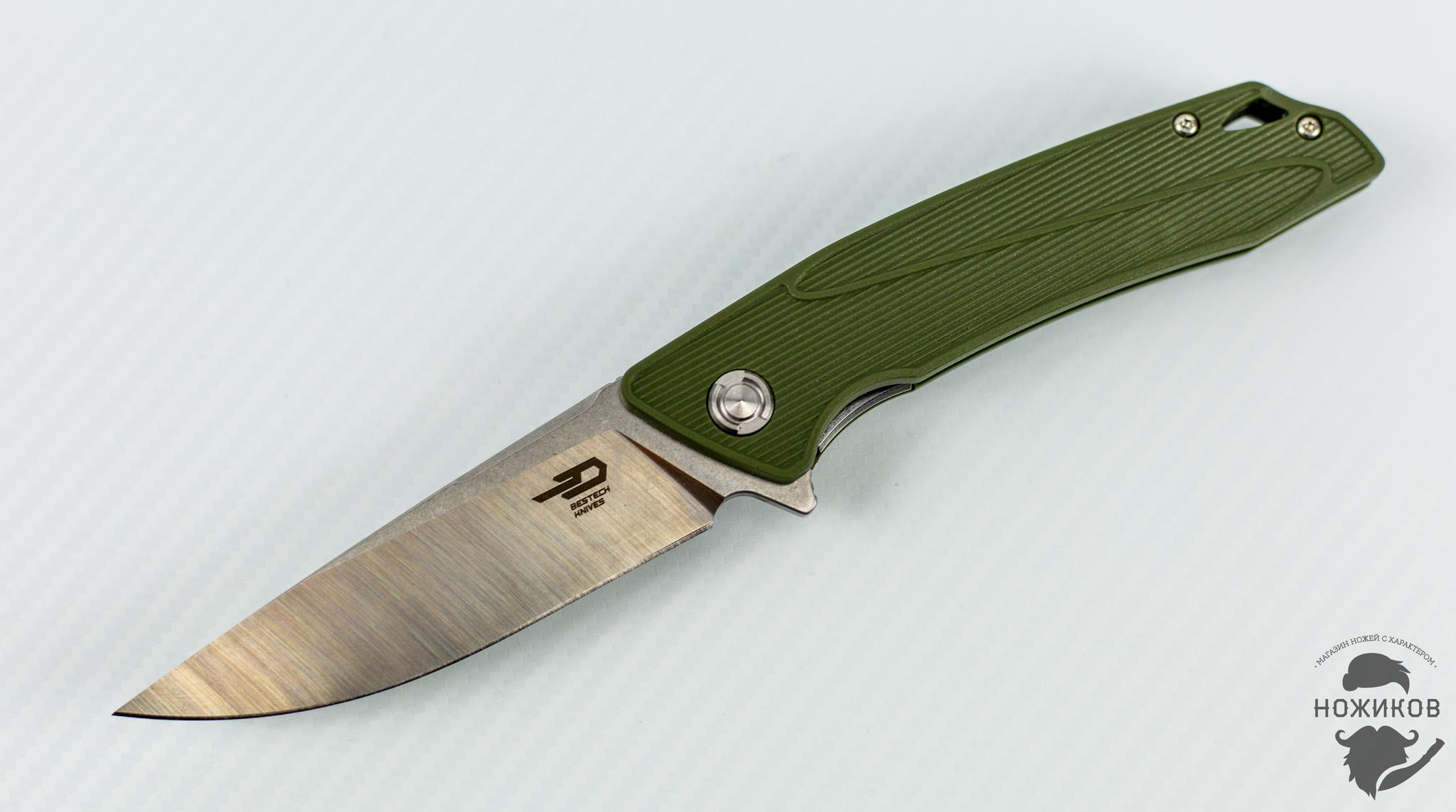 Фото 9 - Складной нож Bestech Spike BG09B-2, сталь Sandvik 12C27 от Bestech Knives