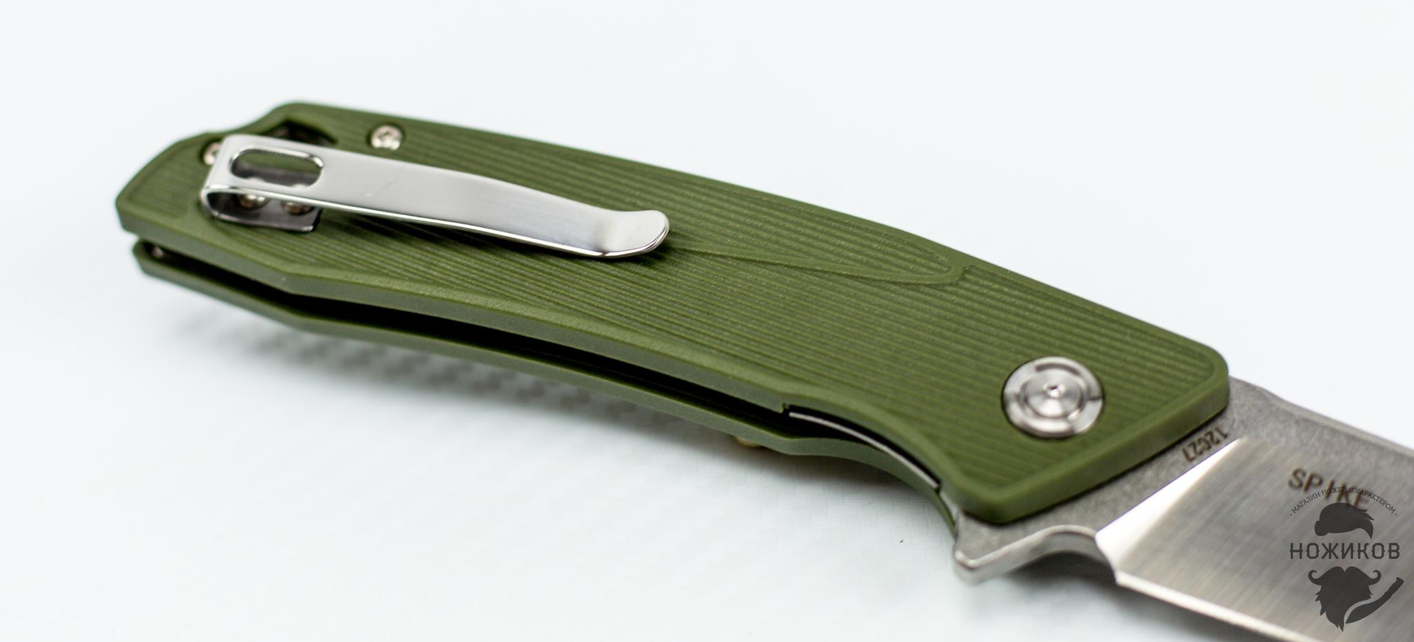 Фото 10 - Складной нож Bestech Spike BG09B-2, сталь Sandvik 12C27 от Bestech Knives