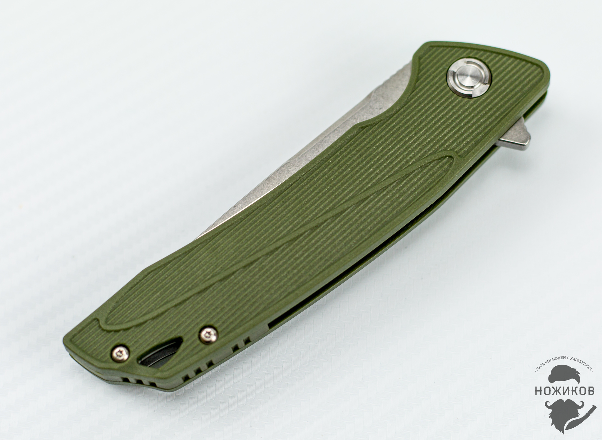 Фото 7 - Складной нож Bestech Spike BG09B-2, сталь Sandvik 12C27 от Bestech Knives