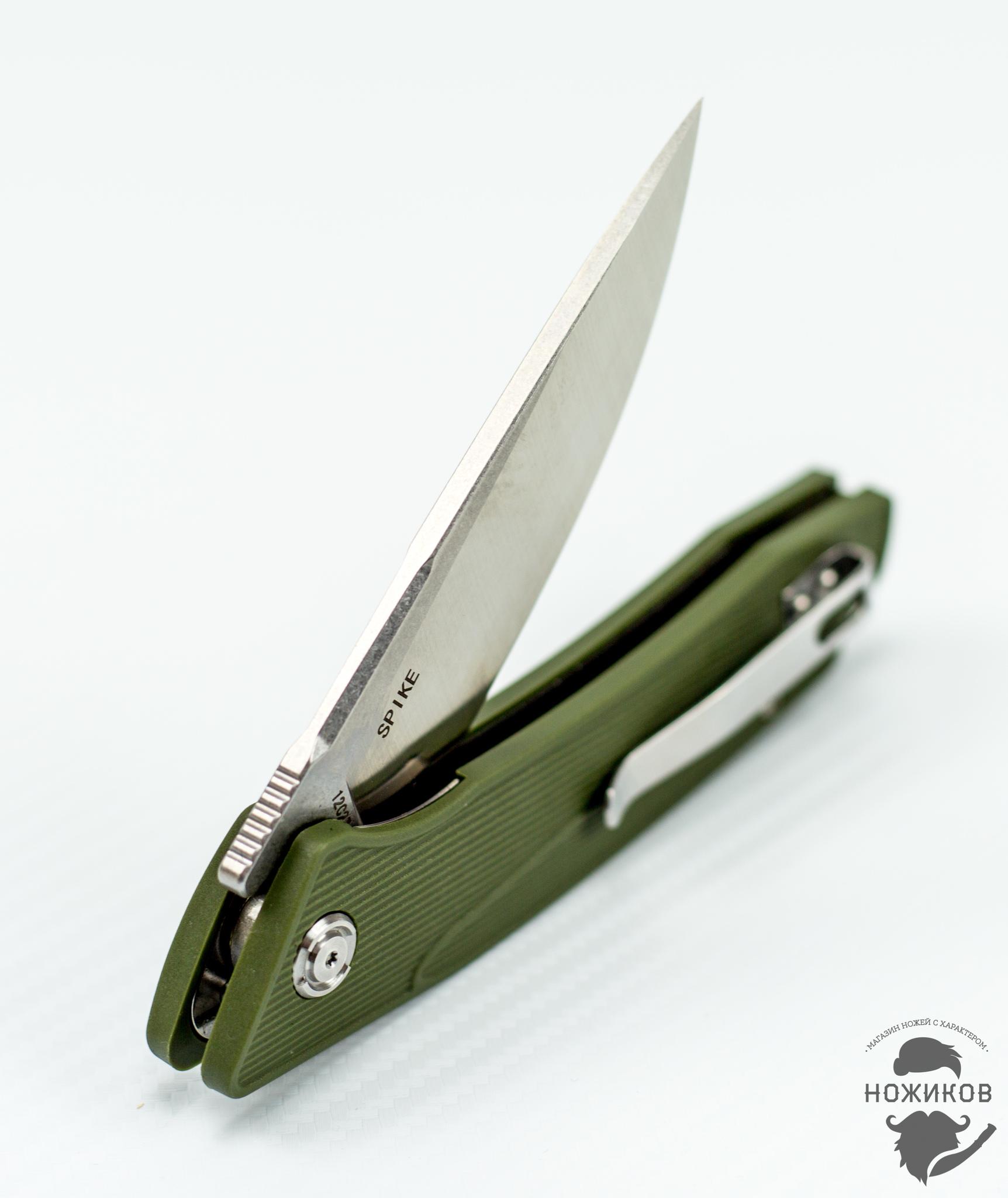 Фото 6 - Складной нож Bestech Spike BG09B-2, сталь Sandvik 12C27 от Bestech Knives