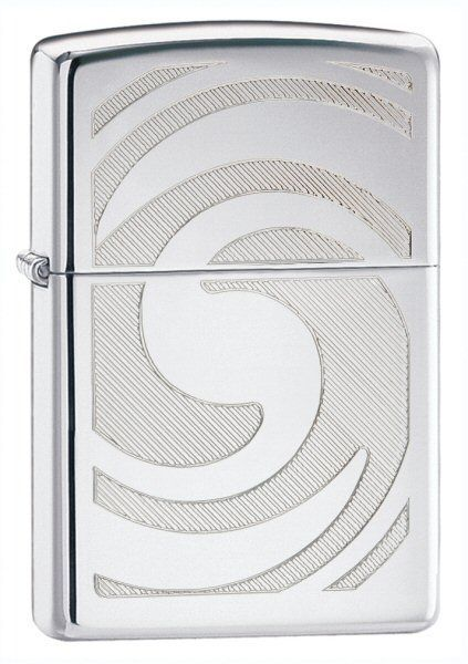 ��������� ZIPPO Abstract High Polish Chrome, ������ � ������-����. ������.,������.,�����.,36�56�12��