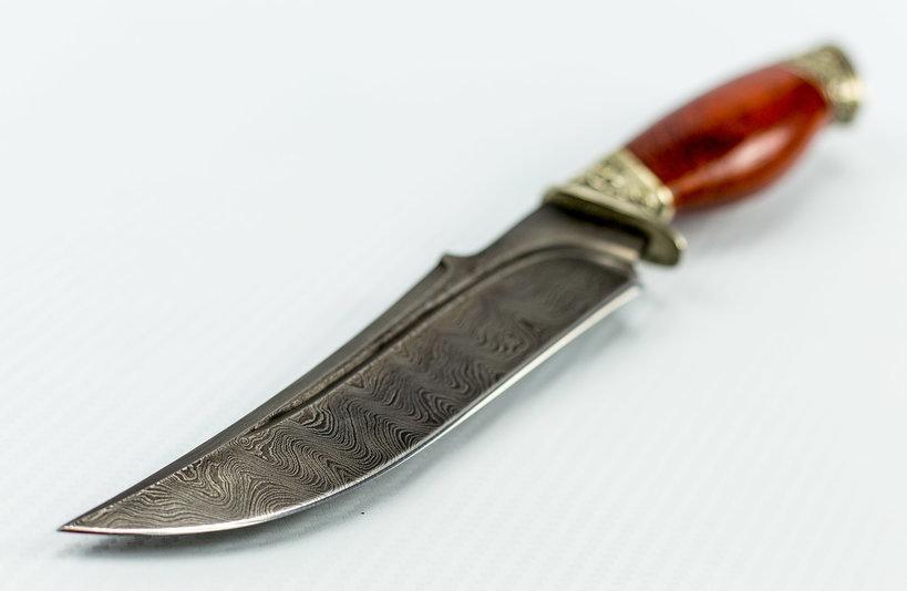 Фото 9 - Авторский Нож из Дамаска №25, Кизляр от Noname