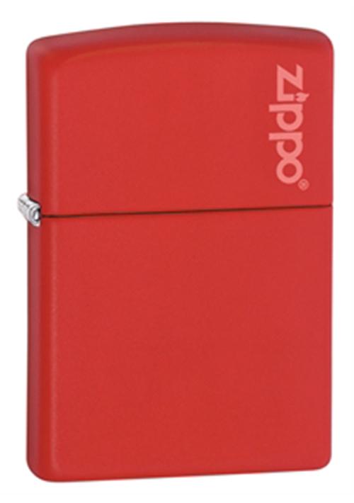 Зажигалка ZIPPO Classic, латунь с покрытием Red Matte, красный, матовая, 36х12x56 ммЗажигалки Zippo<br>Зажигалка ZIPPO Classic, латунь с покрытием Red Matte, красный, матовая, 36х12x56 мм<br>