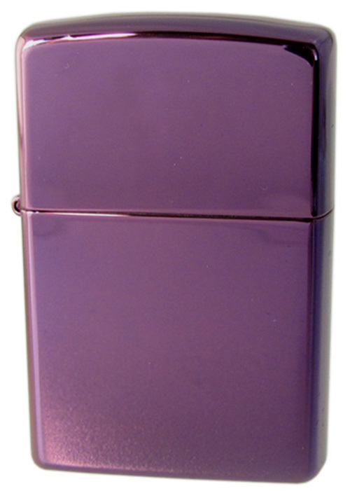 Зажигалка ZIPPO Abyss Classic, латунь с покрытием , фиолетовый, глянцевая, 36х12x56 ммЗажигалки Zippo<br>Зажигалка ZIPPO Classic, латунь с покрытием Abyss™, фиолетовый, глянцевая, 36х12x56 мм<br>