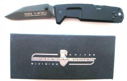 Фото 3 - Складной нож Extrema Ratio Fulcrum II D, сталь Bhler N690, рукоять алюминий