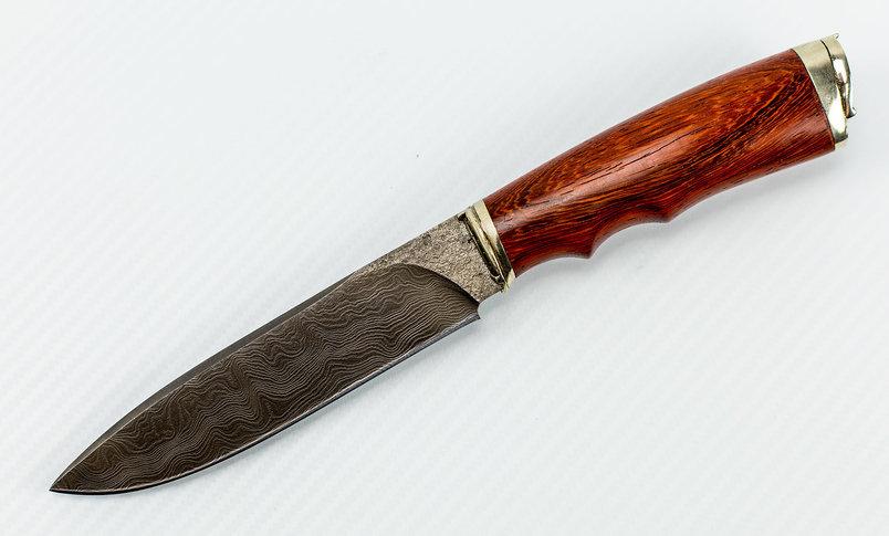 Авторский Нож из Дамаска №6, Кизляр авторский нож из дамаска 11 кизляр