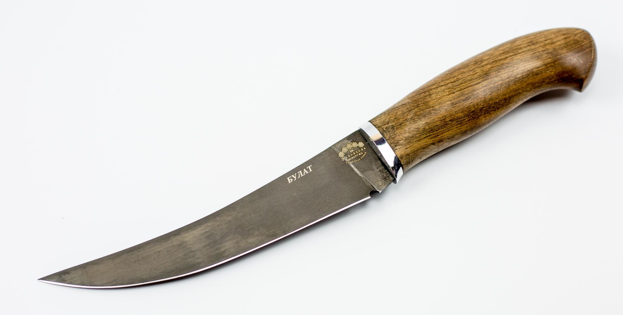 Фото 2 - Нож филейный Нерпа , сталь булат от Кузница Завьялова