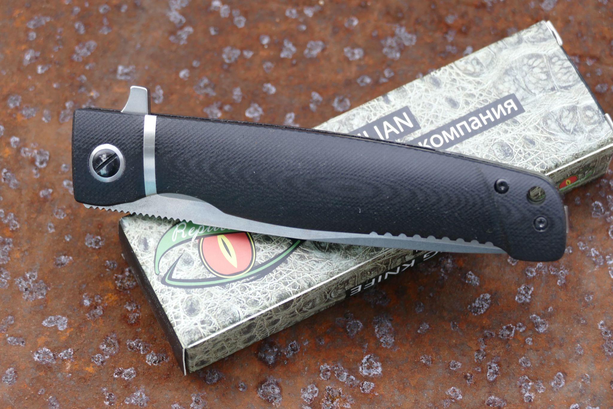 Фото 3 - Складной нож Карат 3 от Reptilian