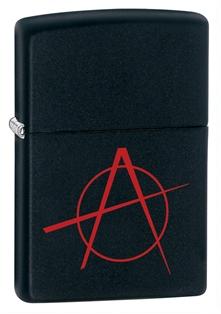 Зажигалка ZIPPO Classic А с покрытием Black Matte, латунь/сталь, чёрная, матовая, 36x12x56 мм zippo slim black