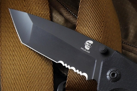 Фото 2 - Складной нож OTAVA с серрейтором, Mr Blade от Mr.Blade