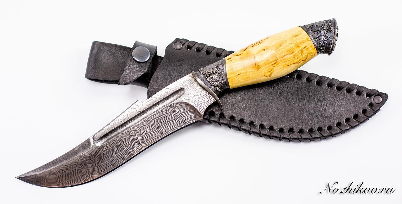 Фото 9 - Авторский Нож из Дамаска №14, Кизляр от Noname