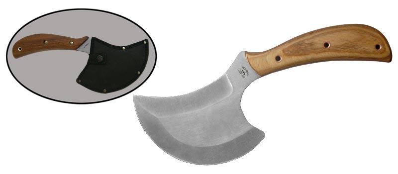 Топорик БерсеркНожи Ворсма<br>Oбщая длина- 305 мм Длина клинка- 140 мм Толщина клинка- 5 Сталь- 65Х13Рукоять- бук Чехол- кордура<br>