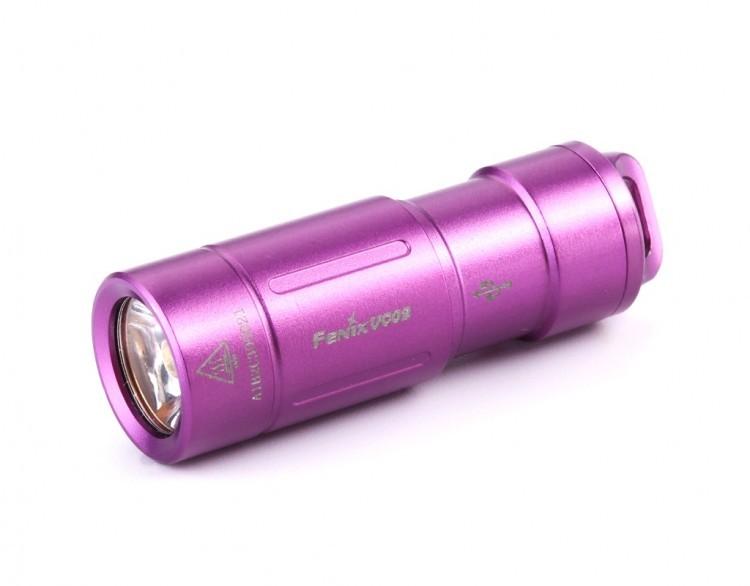 Фонарь Fenix UC02 Cree XP-G2 S2, фиолетовый налобный фонарь fenix hp30r cree xm l2 xp g2 r5 черный