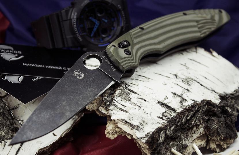 Фото 2 - Складной нож Грач от Steelclaw