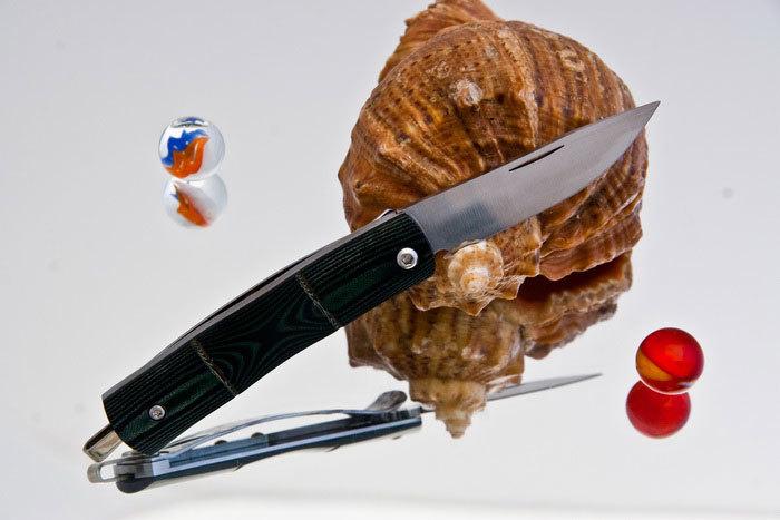 Купить Складной нож Mcusta MC-0154, AUS-8, микарта в России