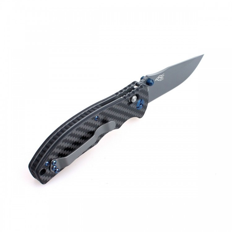 Фото 3 - Складной нож Ganzo G7503CF , рукоять карбон