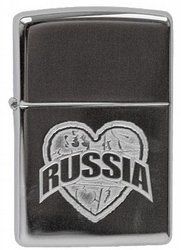 Зажигалка I Love Russia (MP317363)Зажигалки Zippo<br>Зажигалка I Love Russia (MP317363)<br>