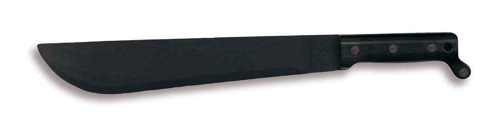 Мачете Ontario CT1Ontario Knife Company<br>Мачете представленной моделиизготовлено из карбоновой стали 1095 Carbon Steel и покрыто защитой от ржавчины, что делает его исключительно прочным и острым.Оригинальная модель мачете легко и быстро справится с поставленными задачами: расщепления, рубки или резания. Лезвие имеет матовое антикоррозийное покрытие, а текстурированная рукоять выполнена из полипропилена. Цельная конструкция исключает возможность изделию изгибаться и выскальзывать из рук, даже если Вы работаете в перчатках. Инструмент идеально подходит для ежедневных работ на садовом участке или в лесу, обладает хорошим и точным ударом. Ножны в комплект не входят.<br>Мачете - это сильный, красивый, качественный и функциональный аксессуар, который успешно прослужит Вам долгие годы. Дизайн разработан ведущими мастерами американской оружейной компанией Ontario Knife Company.<br>