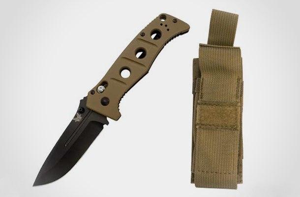 Фото 3 - Складной нож Benchmade 275BKSN Adamas, сталь D2, рукоять G10