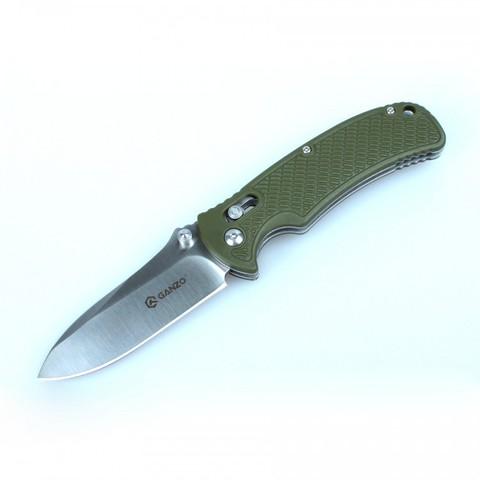 Нож Ganzo G726M зеленый - Nozhikov.ru