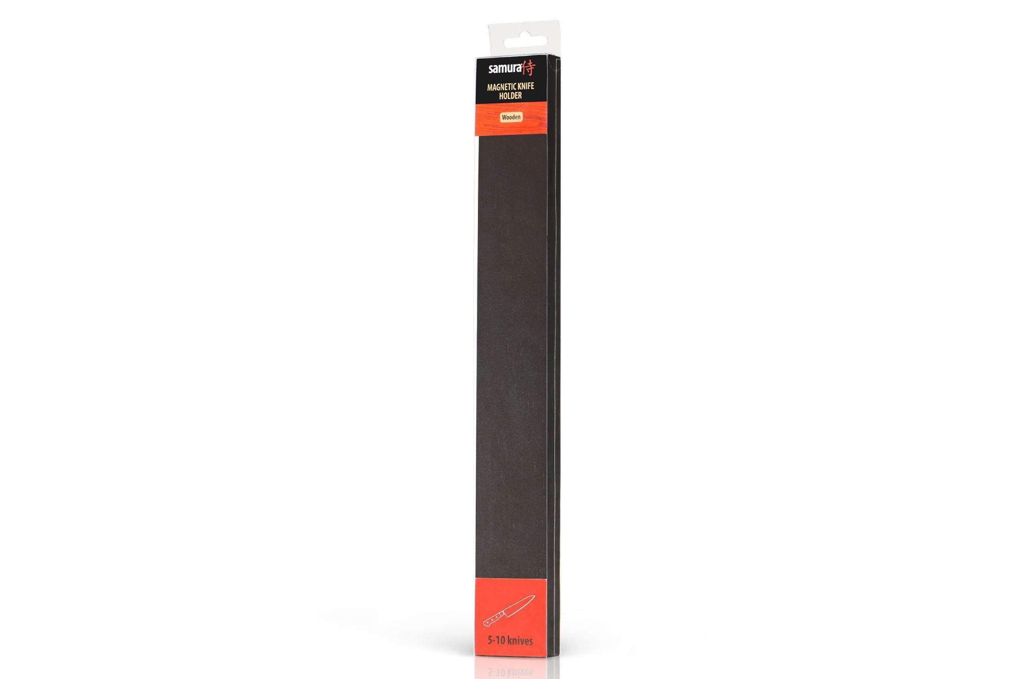 Фото 2 - Магнитный держатель Samura для ножей, 38.5 см, SMH-04D, темный