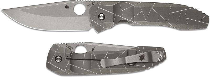 Складной нож Spyderco NirvanaРаскладные ножи<br>Складной нож SPYDERCO NIRVANA сохраняет основные черты ножей Спайдерко, но выпущен в совершенно ином стиле. Перед вами практичный и надежный городской джентльмен, который наигрался в яркие цвета рукоятей и теперь хочет более спокойных оттенков. Для создания ножа использованы материалы класса «премиум»: японская сталь высокой твердости и титановый сплав. Несмотря на такое сочетание, вес ножа составляет всего 135 граммов. Нож оснащен нетипичным для бренда замком фрейм-лок. По сторонам рукояти выполнены фрезерованные пропилы, которые обеспечивают дополнительную безопасность при работе с ножом.<br>