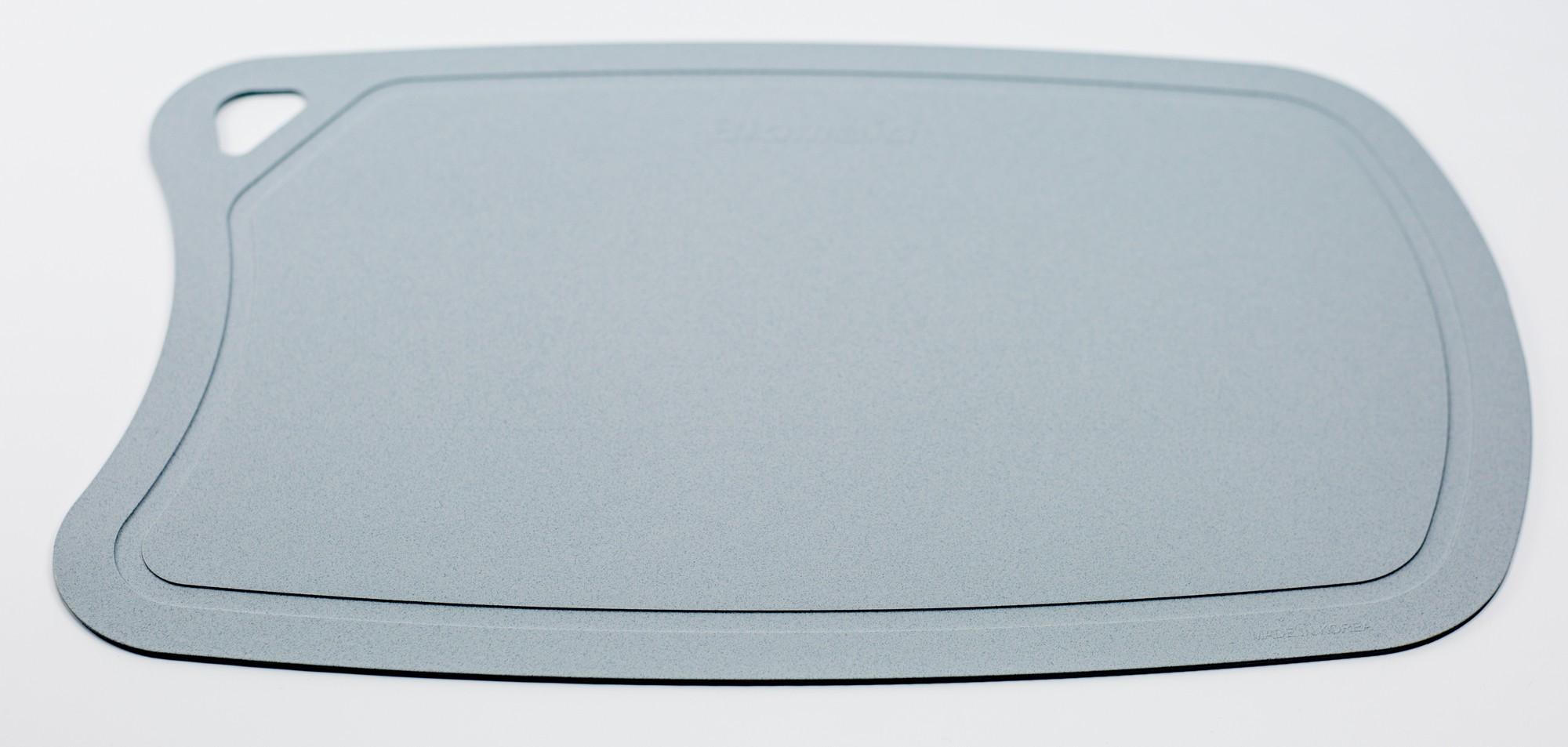 Доска разделочная BIOMAID угольная, термопластичный полиуретан, сераяTojiro<br>Доска разделочная BIOMAID угольная, термопластичный полиуретан, серый, 380x250x2мм<br>