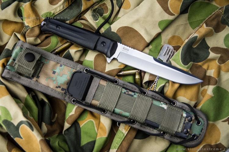 Фото 2 - Тактический нож Alpha AUS-8 SW от Кизляр от Kizlyar Supreme