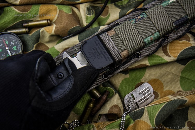 Фото 4 - Тактический нож Alpha AUS-8 SW от Кизляр от Kizlyar Supreme