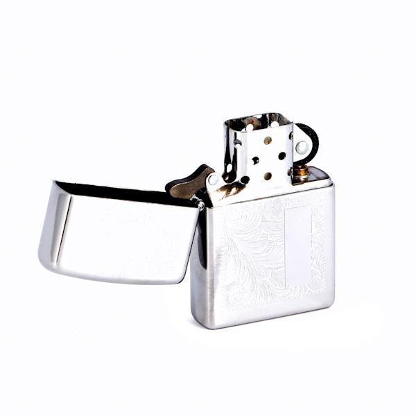 Фото 2 - Зажигалка ZIPPO Venetian® с покрытием High Polish Chrome, латунь/сталь, серебистая, 36x12x56 мм