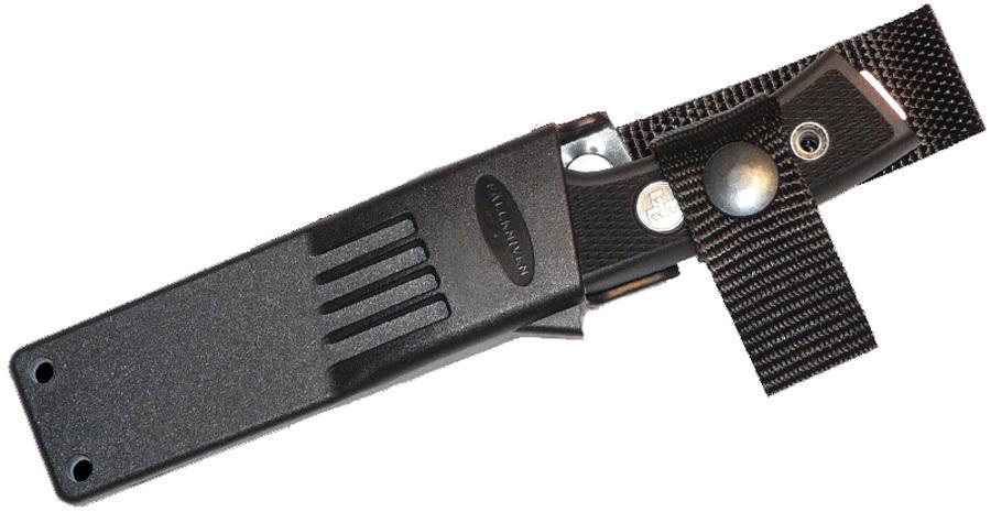 Нож с фиксированным клинком TK6 Tre Kronor Hunter (3G - Steel, Satin Blade, Zytel Sheath) 8.0 см.