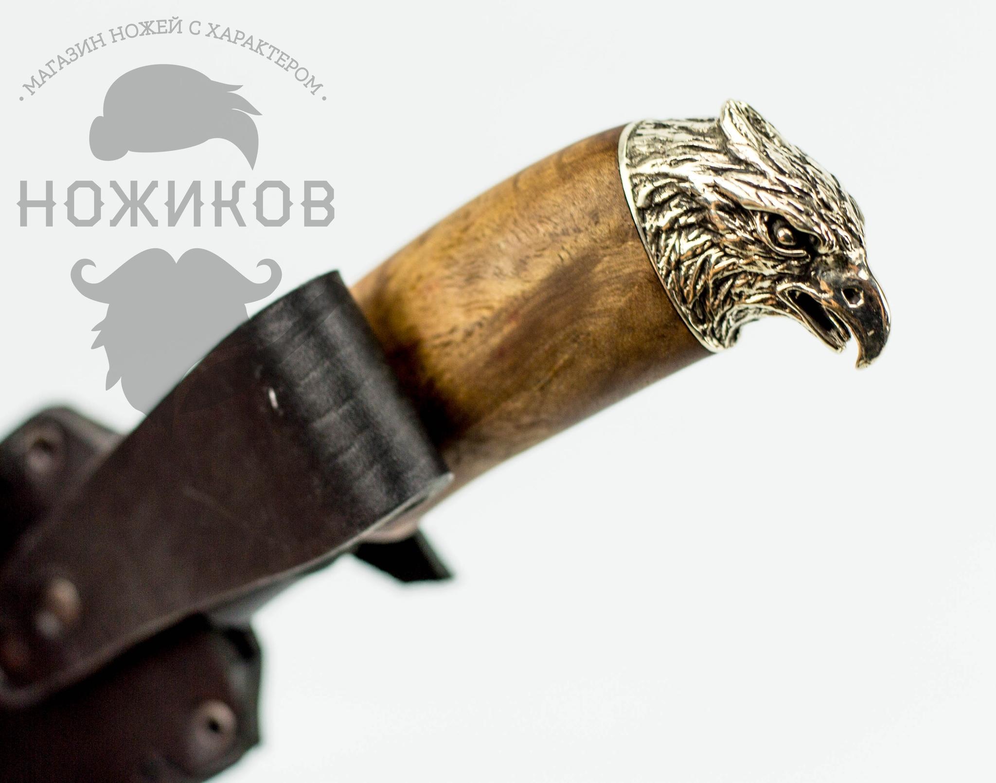 Фото 5 - Авторский Нож из Дамаска №76, Кизляр