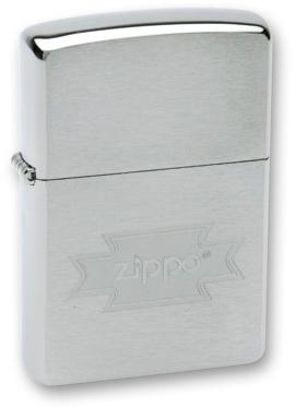 Зажигалка ZIPPO Zippo Brushed Chrome, латунь с никеле-хром.покрыт., серебр., матов., 36х56х12 ммЗажигалки Zippo<br>Зажигалка ZIPPO Zippo Brushed Chrome, латунь с никеле-хромовым покрытием, серебряный, матовая, 36х56х12 мм<br>