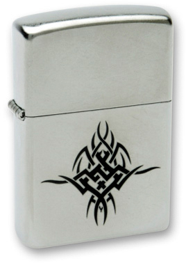 Зажигалка ZIPPO Tattoo Satin Chrome, латунь с ник.-хром. покрыт.,серебр.,матовая muslin backdrops for photography backgrounds for photo studio 300x450cm photography studio backdrop fond studio photo vinyle