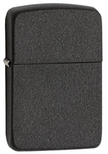 Зажигалка ZIPPO 1941 Replica, латунь с покрытием Black Crackle, черный, матовая, 36х12x56 мм vector valor black crackle matte lighter