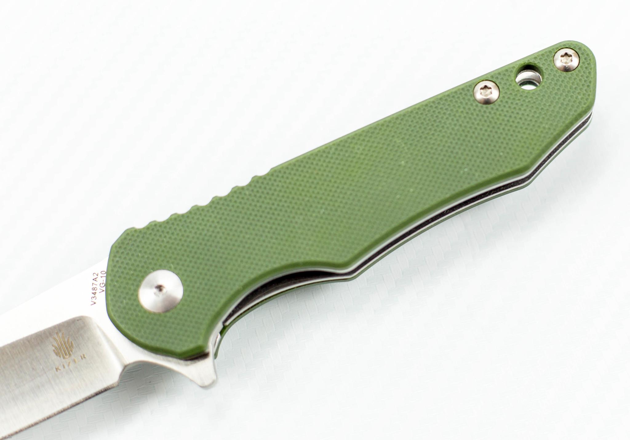 Фото 6 - Складной нож Kizer Cutlery Vanguard Mikkel Willumsen Barbosa-2